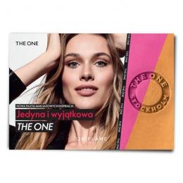 Plakat THE ONE- paleta makijażowych inspiracji.