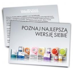 Ulotka Wellness - POZNAJ NAJLEPSZĄ WERSJĘ SIEBIE