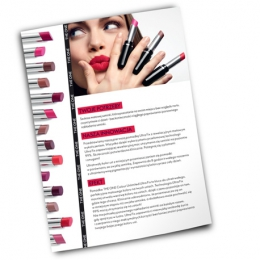 Plakat produktowy THE ONE Colour Unlimited UltraFix Lipstick.