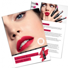 Ulotka prospektingowo-produktowa THE ONE_Colour_Unlimited_UltraFix_Lipstick